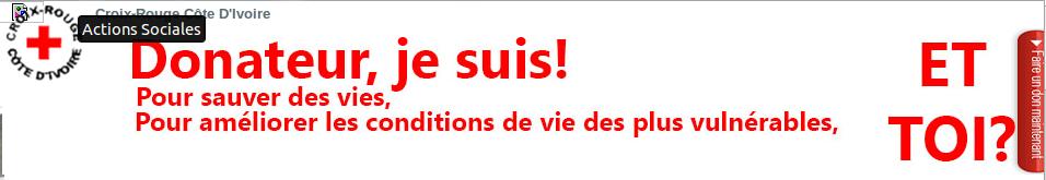 Offres & Opportunités: Recrutement à la Croix-Rouge Côte d'Ivoire...