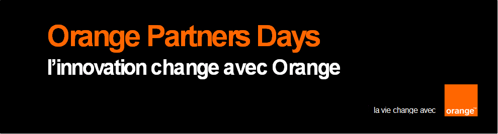 Communiqué de presse: Suite des Orange Partners Days