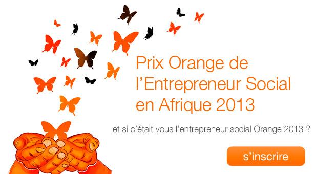 Concours: Prix Orange de l'Entrepreneur Social en Afrique 2013