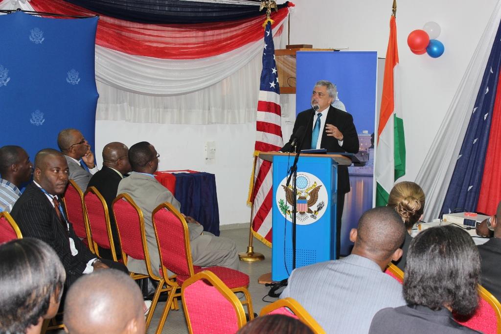 Côte d'Ivoire: L'American Corner fête ses 10 ans...
