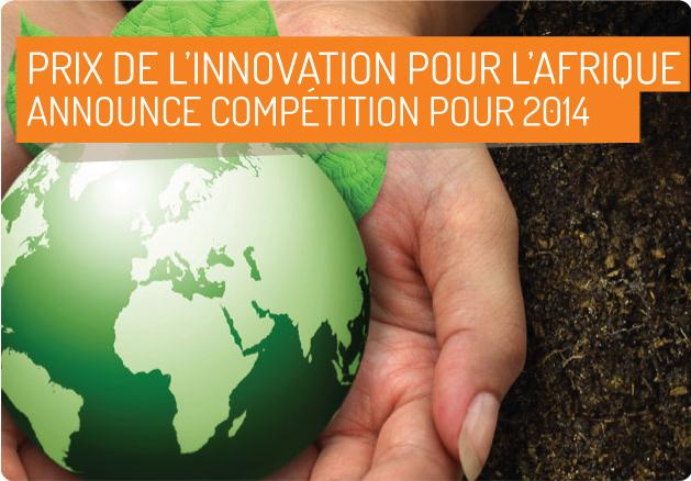 Offres & Opportunités: Prix de l'innovation pour l'Afrique...