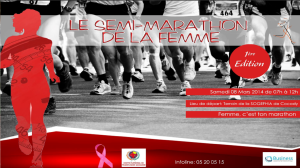 Côte d'Ivoire: accueillons la 1ère édition du semi-marathon de la Femme...