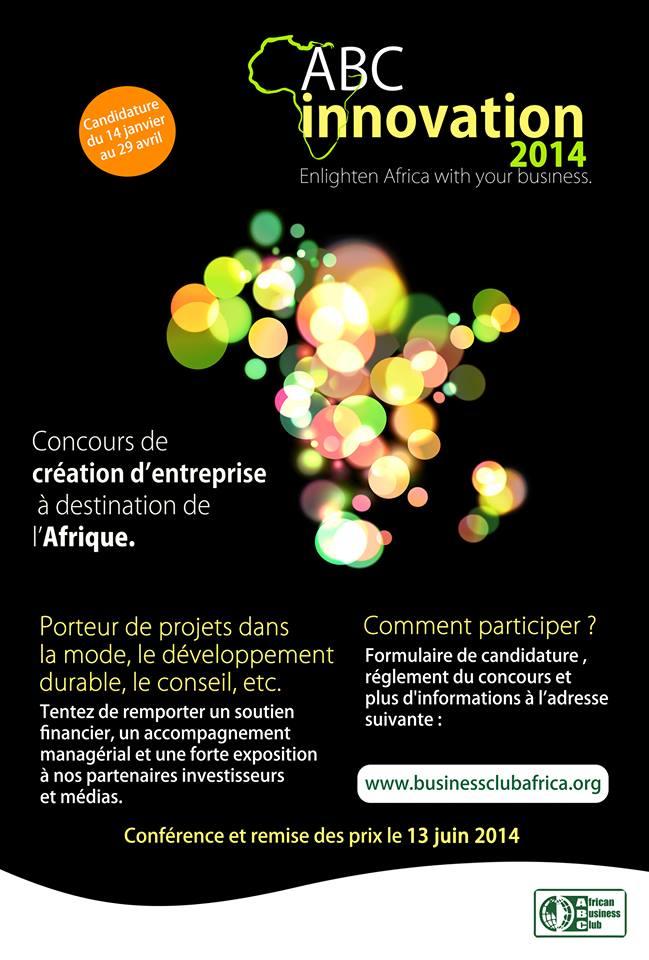 Offres & Opportunités: ABC Innovation lance un concours pour l'entrepreneuriat...