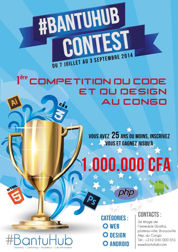 BantuHub Contest : Compétition du code et du design au Congo-Brazaville