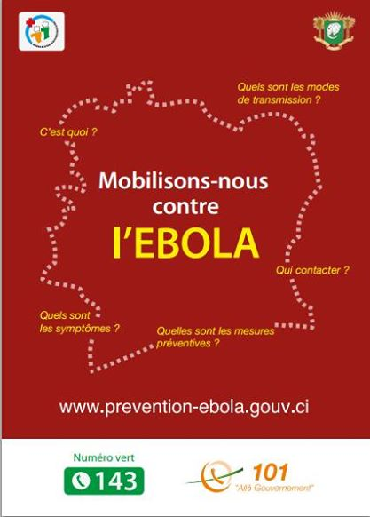 Côte d'Ivoire : #StopEbola, une musique en Creative Commons pour sensibiliser contre la maladie.