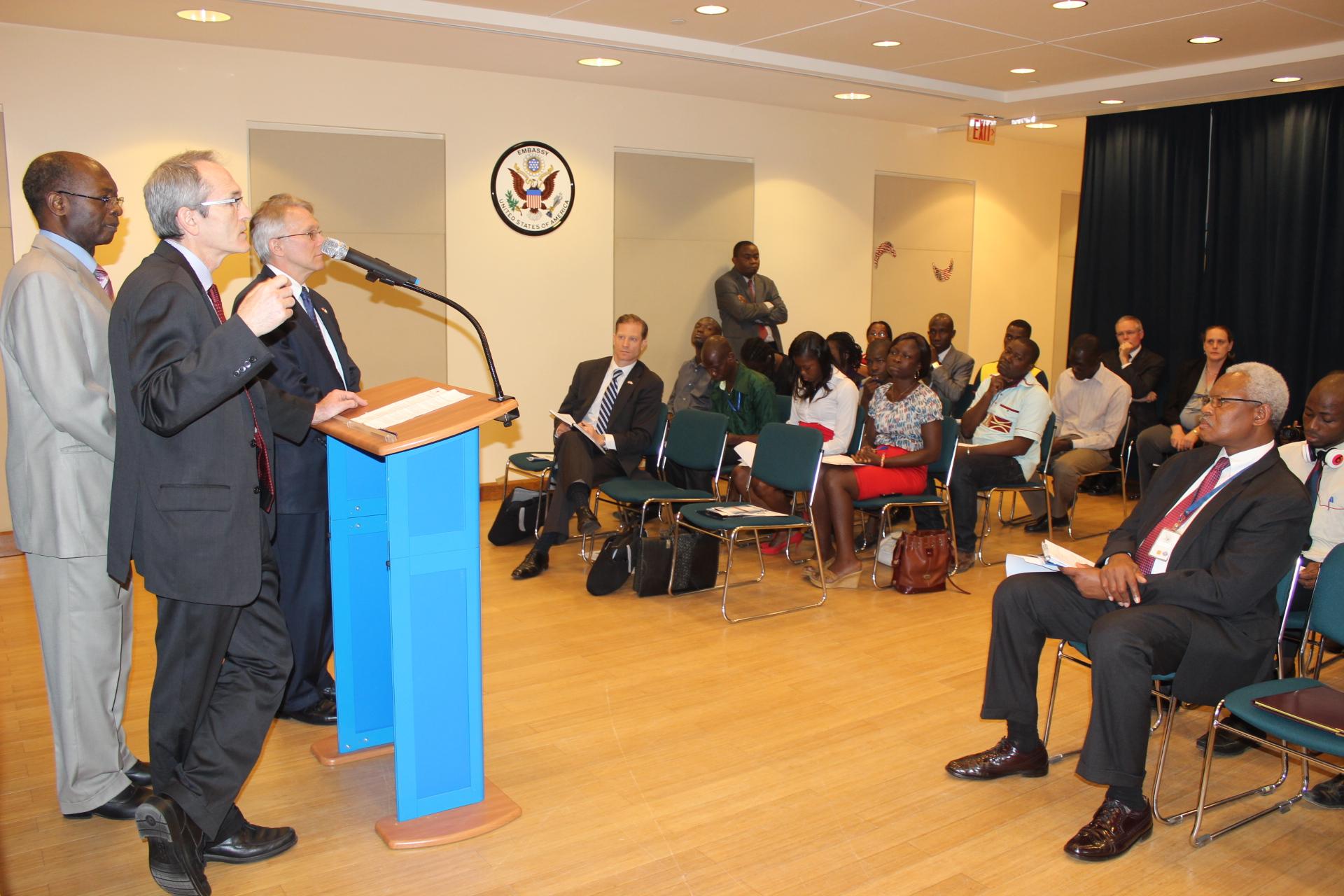 Communiqué de presse: Le Programme Treshold du Millennium Challenge Cooperation (MCC) dans sa phase d'exécution  en Côte d'Ivoire...