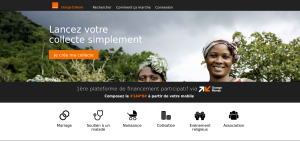 Orange Collecte : 1ère plateforme de financement participatif via Orange Money.