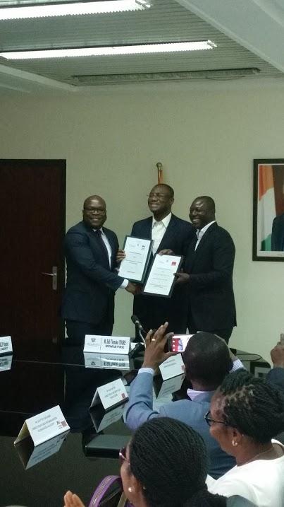 Communiqué de presse: [Côte d'Ivoire] Orange et le ministère de l'emploi Jeunes créent plus de 1000 emplois...