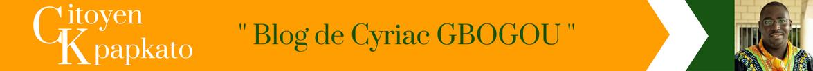 """Citoyen Kpakpato"" – Blog de Cyriac Gbogou"